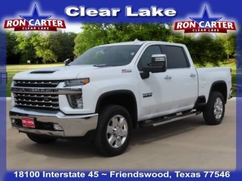 2020 Chevrolet Silverado 2500HD for sale at Ron Carter  Clear Lake Used Cars in Houston TX