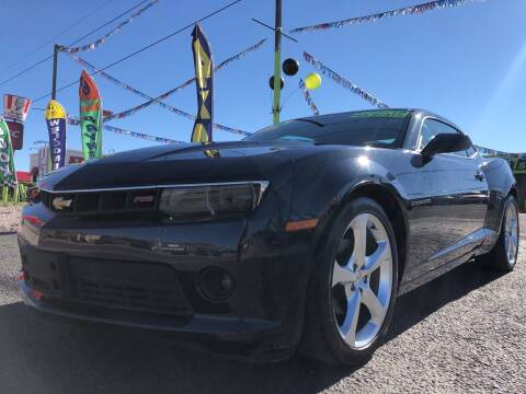 2015 Chevrolet Camaro for sale at 1st Quality Motors LLC in Gallup NM