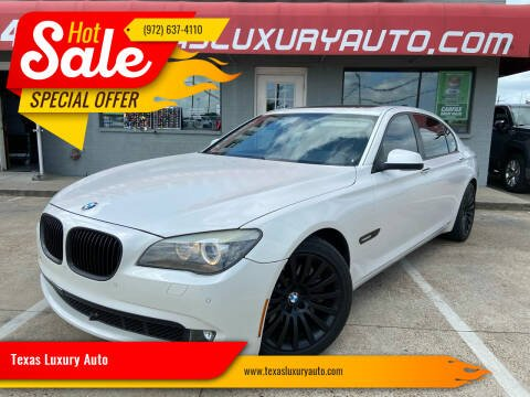 2012 BMW 7 Series for sale at Texas Luxury Auto in Cedar Hill TX