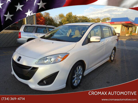 2013 Mazda MAZDA5 for sale at Cromax Automotive in Ann Arbor MI