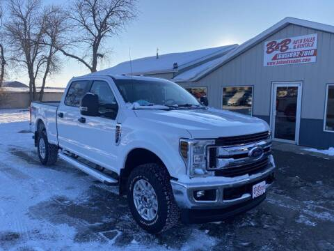 2019 Ford F-250 Super Duty for sale at B & B Auto Sales in Brookings SD