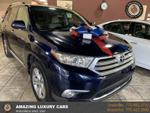 2011 Toyota Highlander for sale at Amazing Luxury Cars in Snellville GA