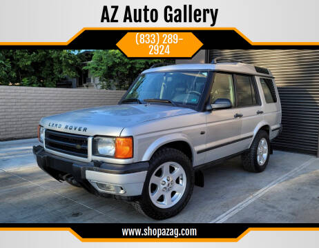 2002 Land Rover Discovery Series II for sale at AZ Auto Gallery in Mesa AZ