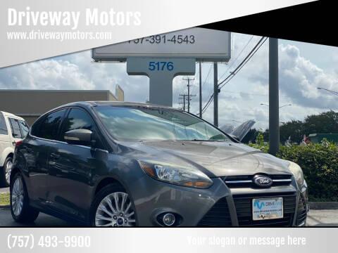 2012 Ford Focus for sale at Driveway Motors in Virginia Beach VA
