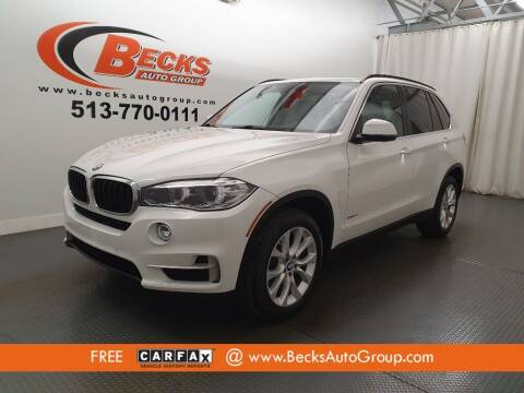 2016 BMW X5 for sale at Becks Auto Group in Mason OH
