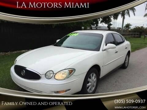 2006 Buick LaCrosse for sale at LA Motors Miami in Miami FL