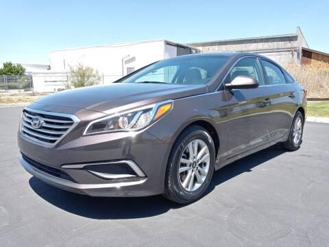2016 Hyundai Sonata for sale at AUTOMOTIVE SOLUTIONS in Salt Lake City UT