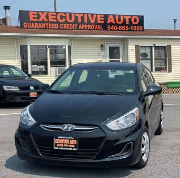 2017 Hyundai Accent for sale at Executive Auto in Winchester VA