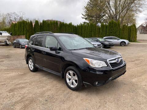 2015 Subaru Forester for sale at VITALIYS AUTO SALES in Chicopee MA