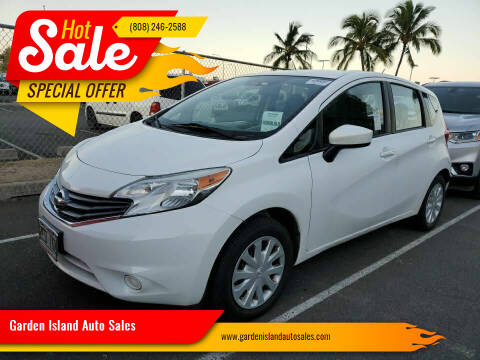 2016 Nissan Versa Note for sale at Garden Island Auto Sales in Lihue HI