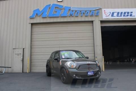 2013 MINI Countryman for sale at MGI Motors in Sacramento CA