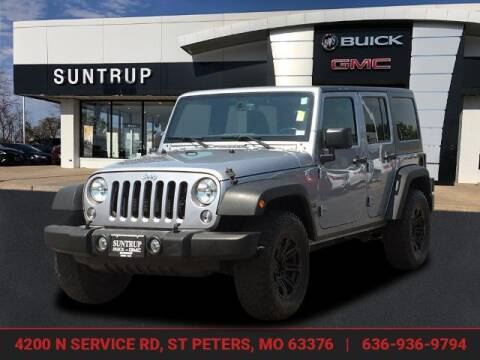 2016 Jeep Wrangler Unlimited for sale at SUNTRUP BUICK GMC in Saint Peters MO