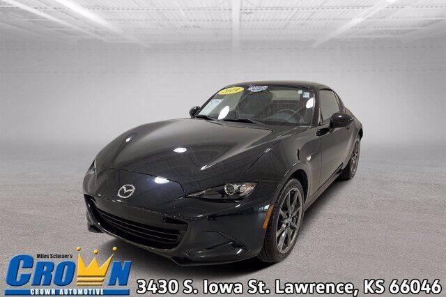 2019 Mazda MX-5 Miata RF for sale at Crown Automotive of Lawrence Kansas in Lawrence KS