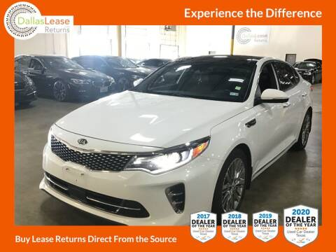 2016 Kia Optima for sale at Dallas Auto Finance in Dallas TX