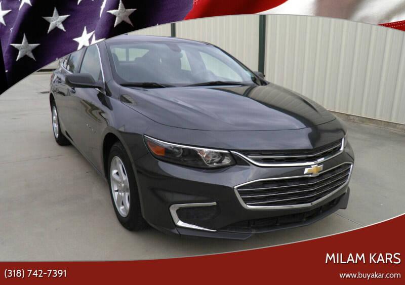 2017 Chevrolet Malibu for sale at MILAM KARS in Bossier City LA