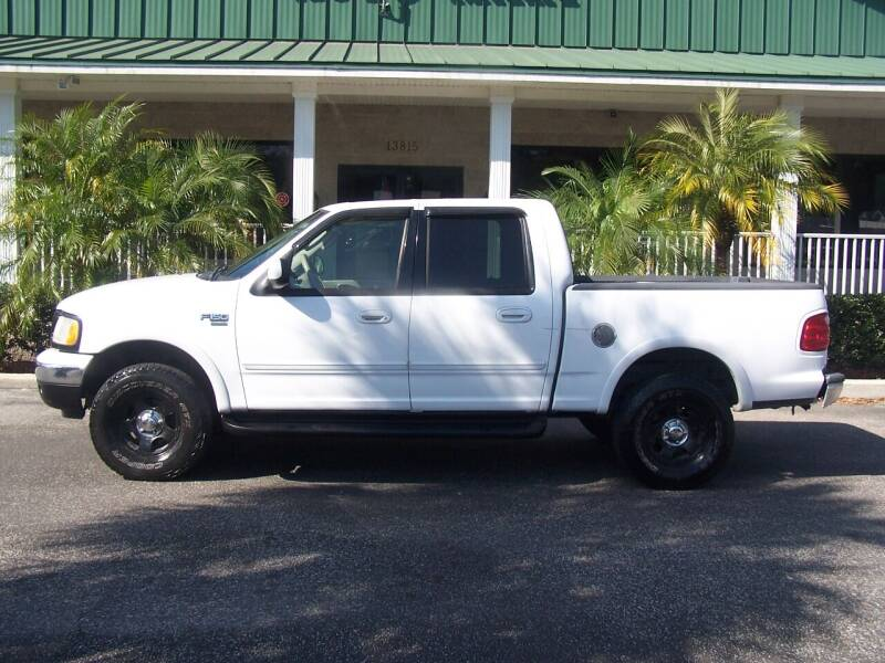 2002 Ford F-150 for sale at Thomas Auto Mart Inc in Dade City FL