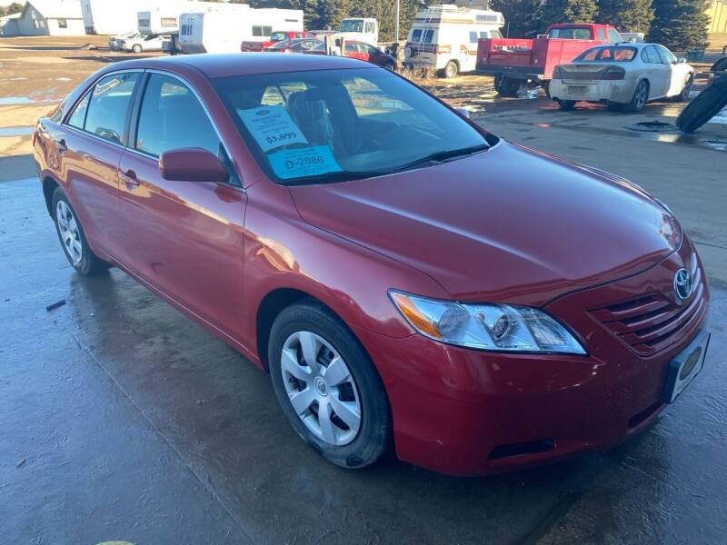 2007 Toyota Camry for sale at BERG AUTO MALL & TRUCKING INC in Beresford SD