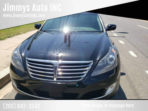 2016 Hyundai Equus for sale at Jimmys Auto INC in Washington DC