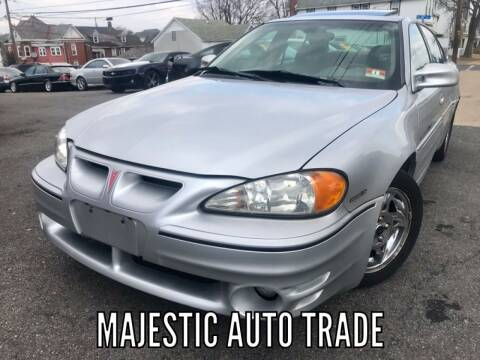 2002 Pontiac Grand Am for sale at Majestic Auto Trade in Easton PA