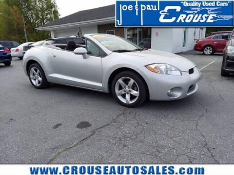 2008 Mitsubishi Eclipse Spyder for sale at Joe and Paul Crouse Inc. in Columbia PA