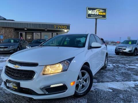 2015 Chevrolet Cruze for sale at MotoMaxx in Spring Lake Park MN