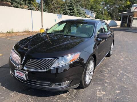 2013 Lincoln MKS for sale at Jeffrey Motors in Kenosha WI