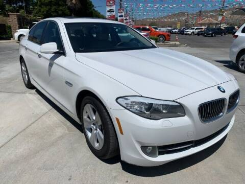 2013 BMW 5 Series for sale at Los Compadres Auto Sales in Riverside CA