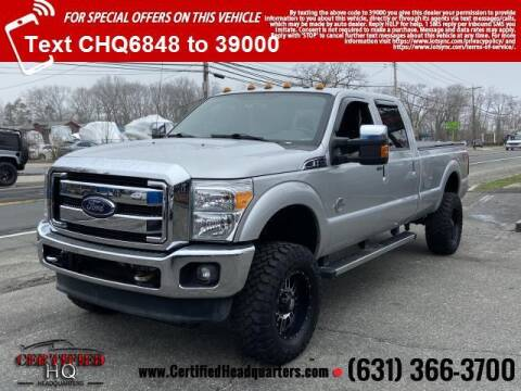 2012 Ford F-350 Super Duty for sale at CERTIFIED HEADQUARTERS in St James NY