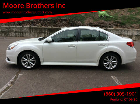 2013 Subaru Legacy for sale at Moore Brothers Inc in Portland CT
