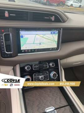 2021 GMC Yukon for sale at COYLE GM - COYLE NISSAN in Clarksville IN