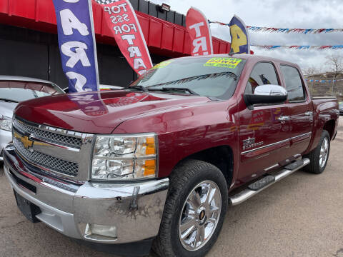 2013 Chevrolet Silverado 1500 for sale at Duke City Auto LLC in Gallup NM
