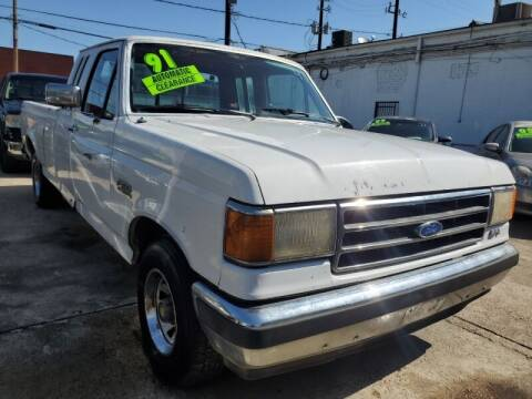 1991 Ford F-150 for sale at USA Auto Brokers in Houston TX