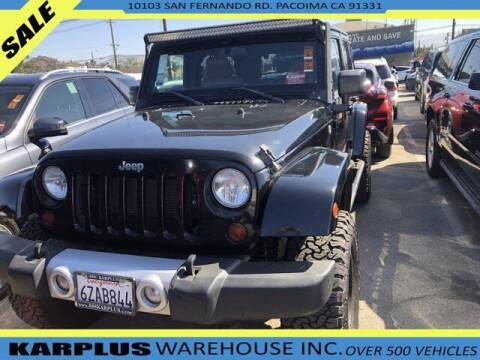 2012 Jeep Wrangler Unlimited for sale at Karplus Warehouse in Pacoima CA