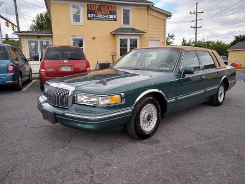 1996 Lincoln Town Car for sale at Top Gear Motors in Winchester VA