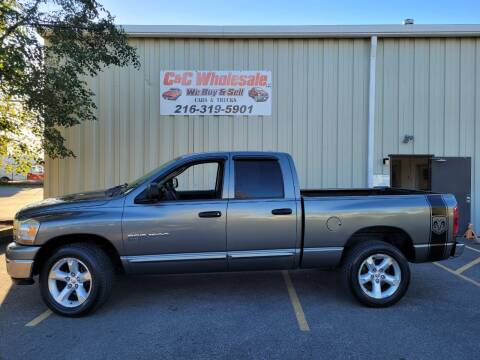 2006 Dodge Ram Pickup 1500 for sale at C & C Wholesale in Cleveland OH