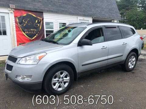 2012 Chevrolet Traverse for sale at J & E AUTOMALL in Pelham NH