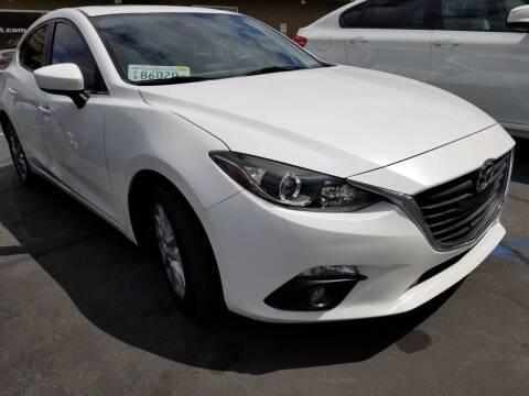 2015 Mazda MAZDA3 for sale at Ournextcar/Ramirez Auto Sales in Downey CA