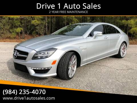 2014 Mercedes-Benz CLS for sale at Drive 1 Auto Sales in Wake Forest NC