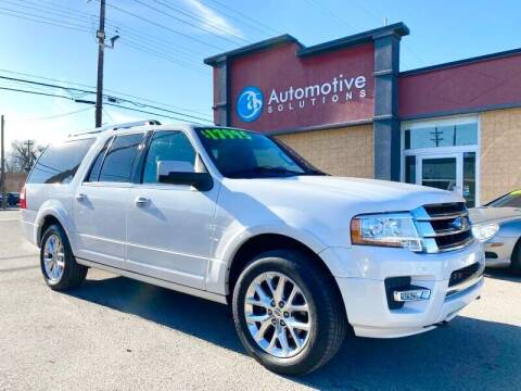 2015 Ford Expedition EL for sale at Automotive Solutions in Louisville KY
