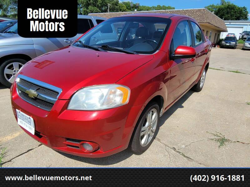 2011 Chevrolet Aveo for sale at Bellevue Motors in Bellevue NE