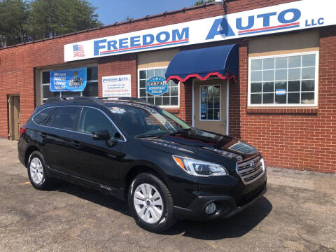 2017 Subaru Outback for sale at FREEDOM AUTO LLC in Wilkesboro NC