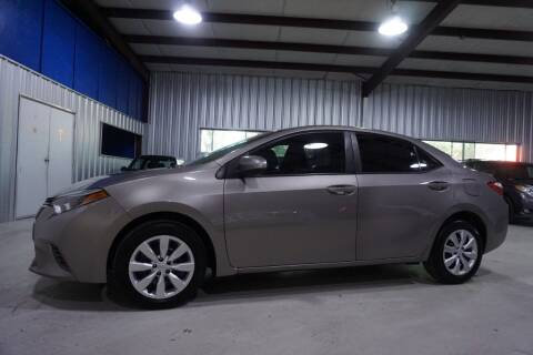2016 Toyota Corolla for sale at SOUTHWEST AUTO CENTER INC in Houston TX