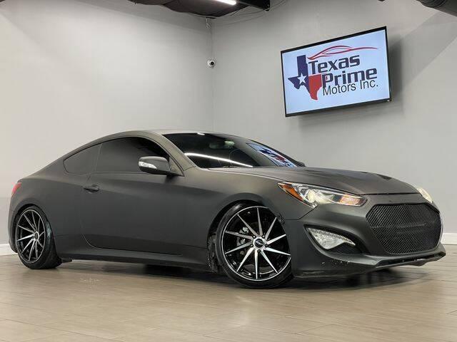 2015 Hyundai Genesis Coupe for sale at Texas Prime Motors in Houston TX
