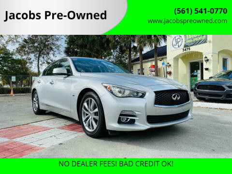2017 Infiniti Q50 for sale at Jacobs Pre-Owned in Lake Worth FL