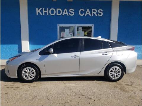 2017 Toyota Prius for sale at Khodas Cars in Gilroy CA