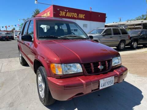 2001 Kia Sportage for sale at 3K Auto in Escondido CA