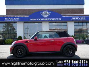 2012 MINI Cooper Convertible for sale at Highline Group Motorsports in Lowell MA