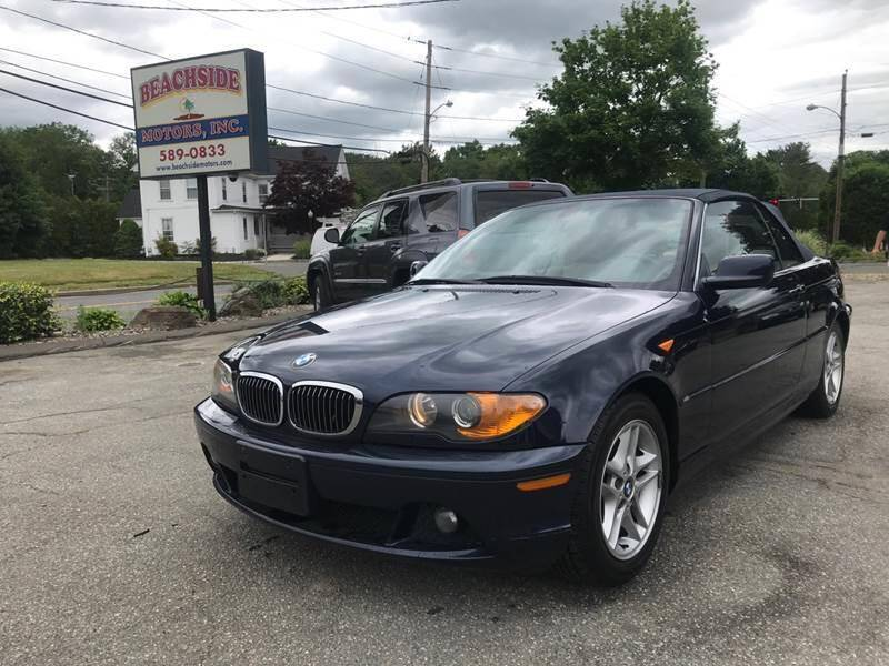2004 BMW 3 Series for sale at Beachside Motors, Inc. in Ludlow MA