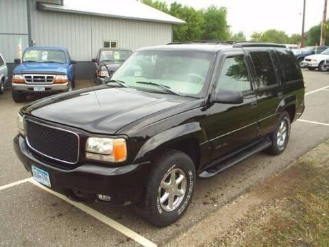 1999 GMC Yukon for sale at Dales Auto Sales in Hutchinson MN