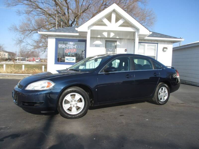 2009 Chevrolet Impala for sale at Blue Arrow Motors in Coal City IL